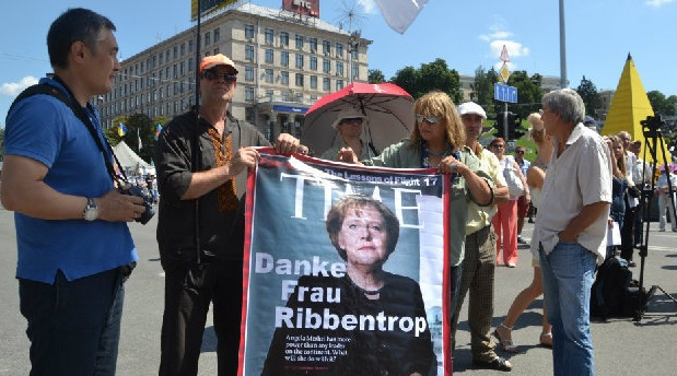 Меркель и Олланд обсуждают в Париже ситуацию в Украине - Цензор.НЕТ 6564