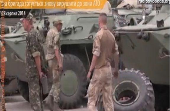 Николаевцы из 79-й бригады снова собираются на фронт на Донбасс. Видео