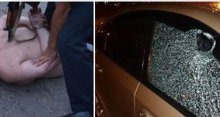 В Харькове прохожие обезвредили мужчину с автоматом. Фото 18+