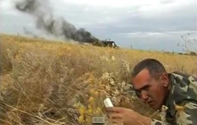 Трое луганских пограничников погибли, подорвавшись на мине. Видео с места происшествия.