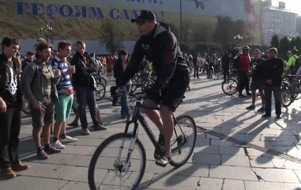 Кличко рассказал, как добирался на работу на велосипеде. Видео