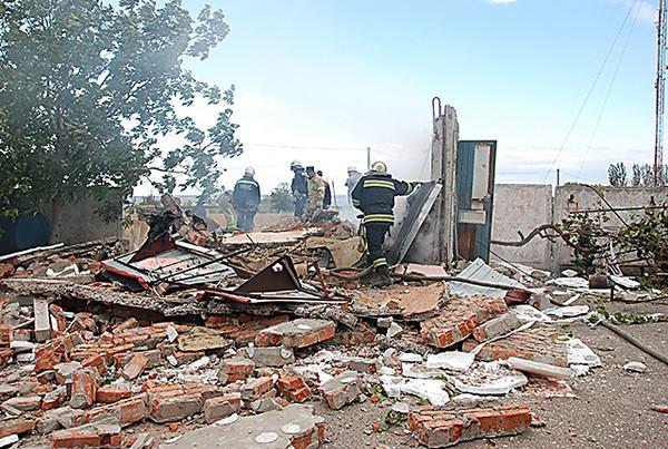 В Николаеве на газовой заправке произошел мощный взрыв. Видео