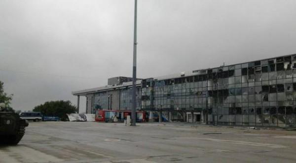 Ополчение ДНР предложили ВСУ сдать аэропорт. Видео