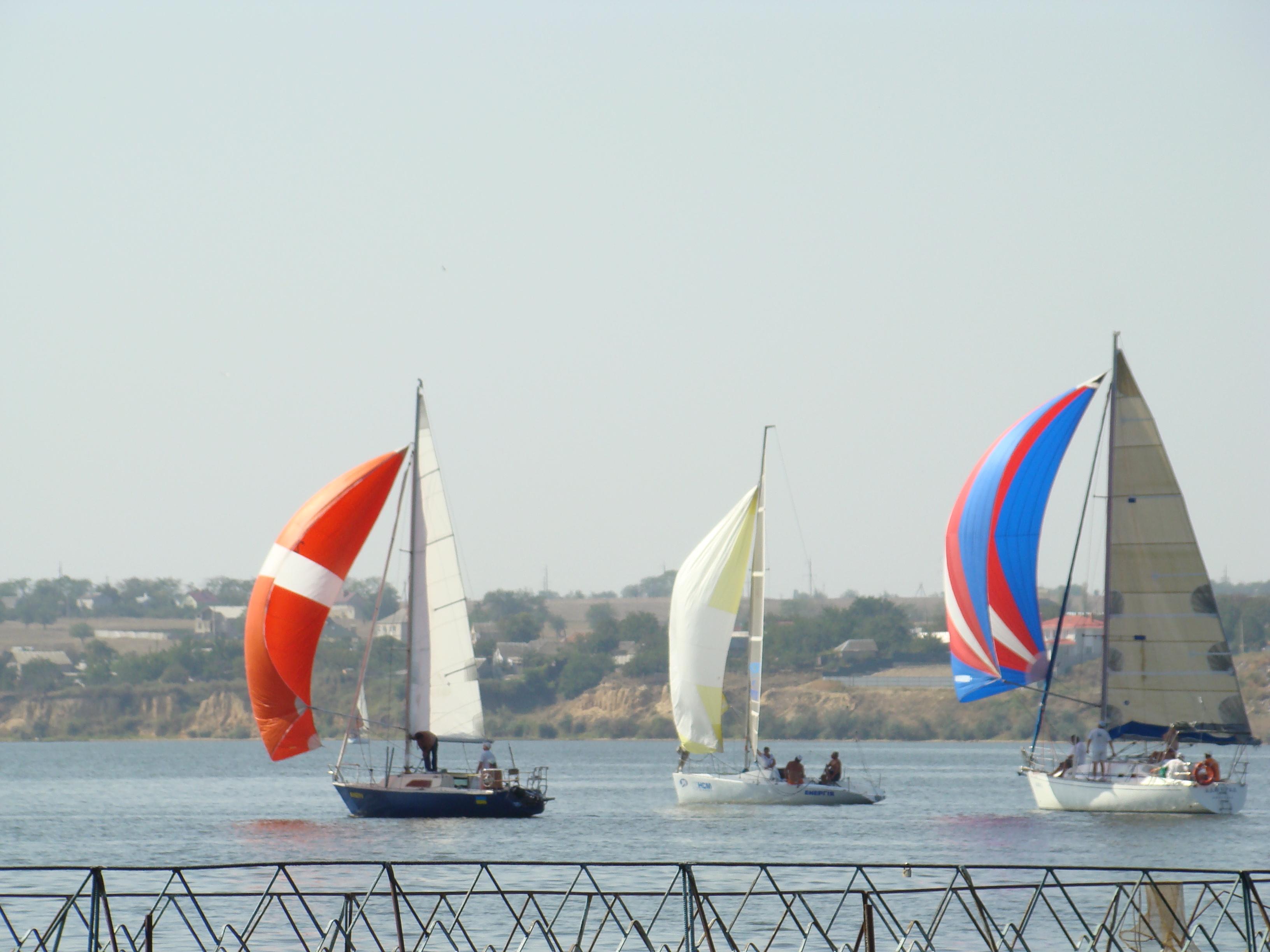 Николаев свои 225 отметил «Парадом яхт». Фото