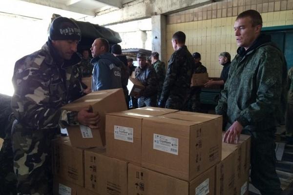 «КамАЗы» российского гуманитарного конвоя уже возвращаются в РФ. Видео