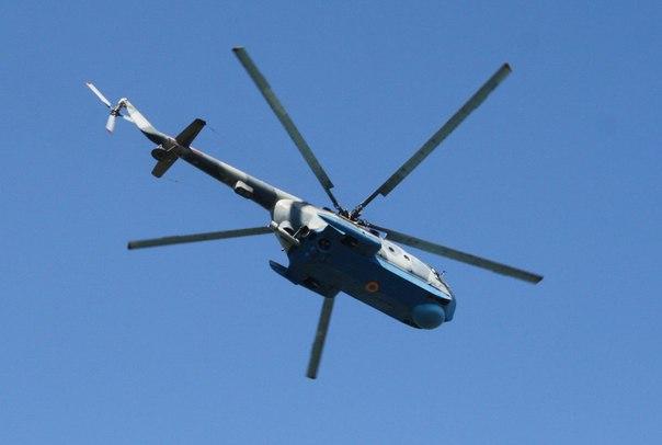 Николаевцев напугал в полдень низко летающий вертолет. Видео