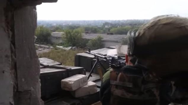 «Правый сектор» поделился уникальными кадрами боя за Донецкий аэропорт. Видео