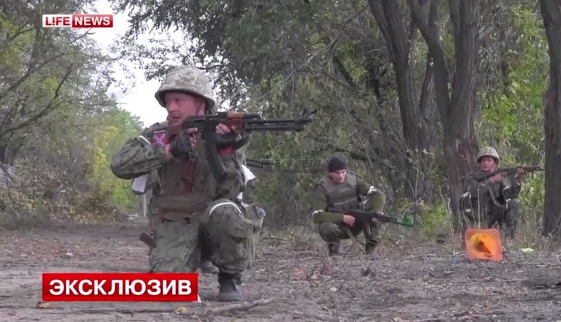 Ополченцы начали штурм аэропорта в Донецке. Видео