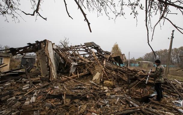 То, что осталось от Спартака под Донецком. Фото