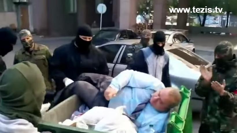 В Запорожье «люстрировали» крупного регионала. Видео