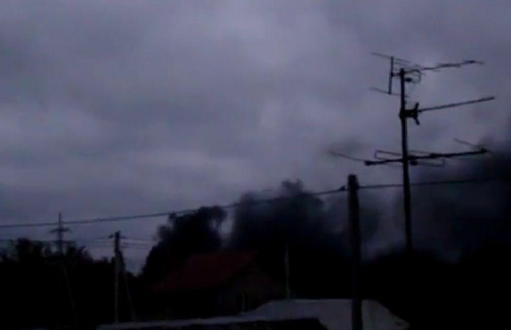 Донецк остался без света и воды после сегодняшних боевых действий. Видео 18+