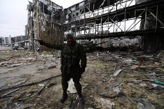 Вот они, «киборги», которые защищают Донецкий аэропорт. Фото