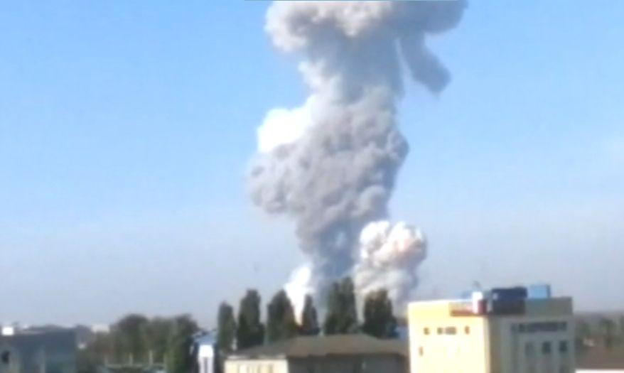 В СНБО рассказали, кто виновен во взрыве на Донецком химзаводе. Видео