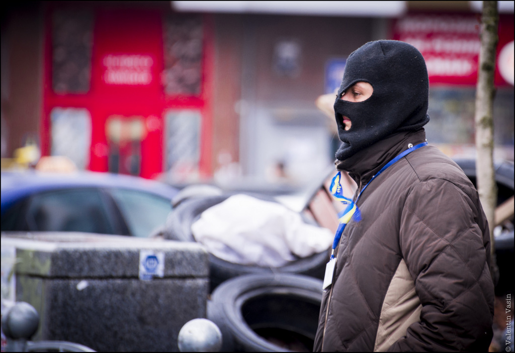 Евромайдан год назад. Фото