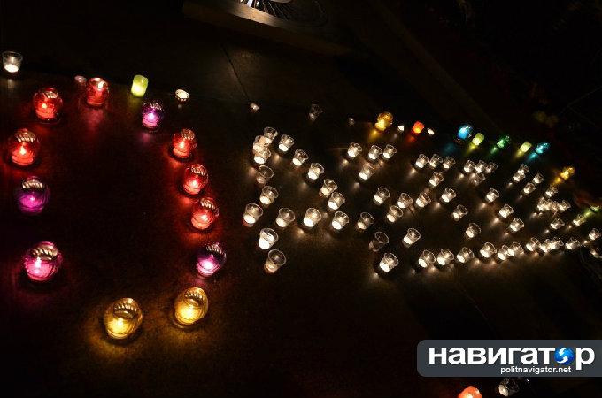 «Проснулся» николаевский «Антимайдан»: Провели акцию памяти погибшим в Одессе 2 мая. Фото