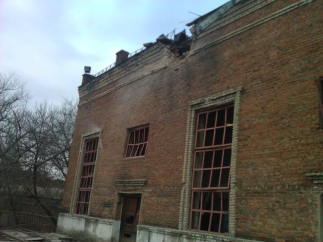 Луганскую ТЭС вновь обстреляли. Фото