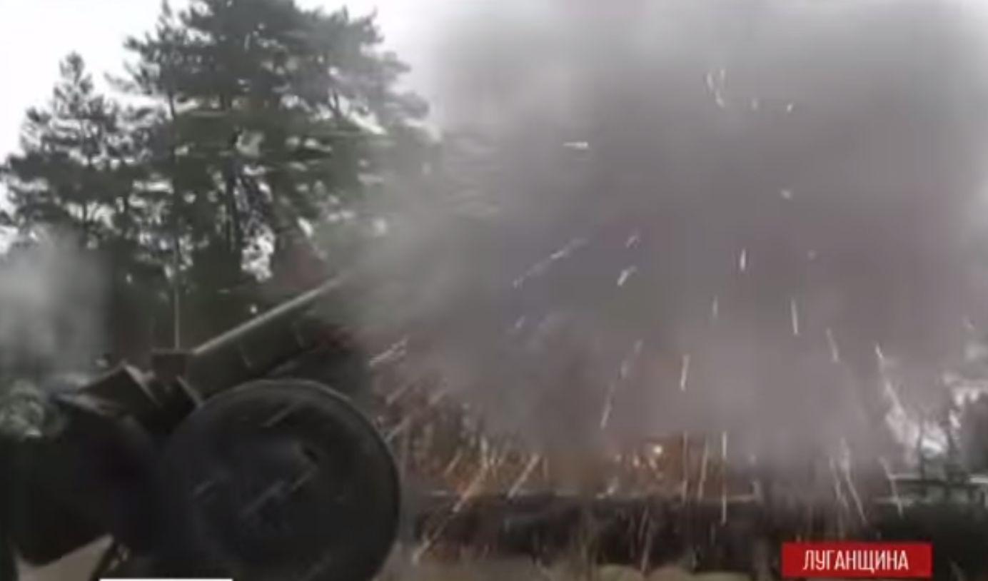 Как украинские десантники держат оборону под Луганском. Видео