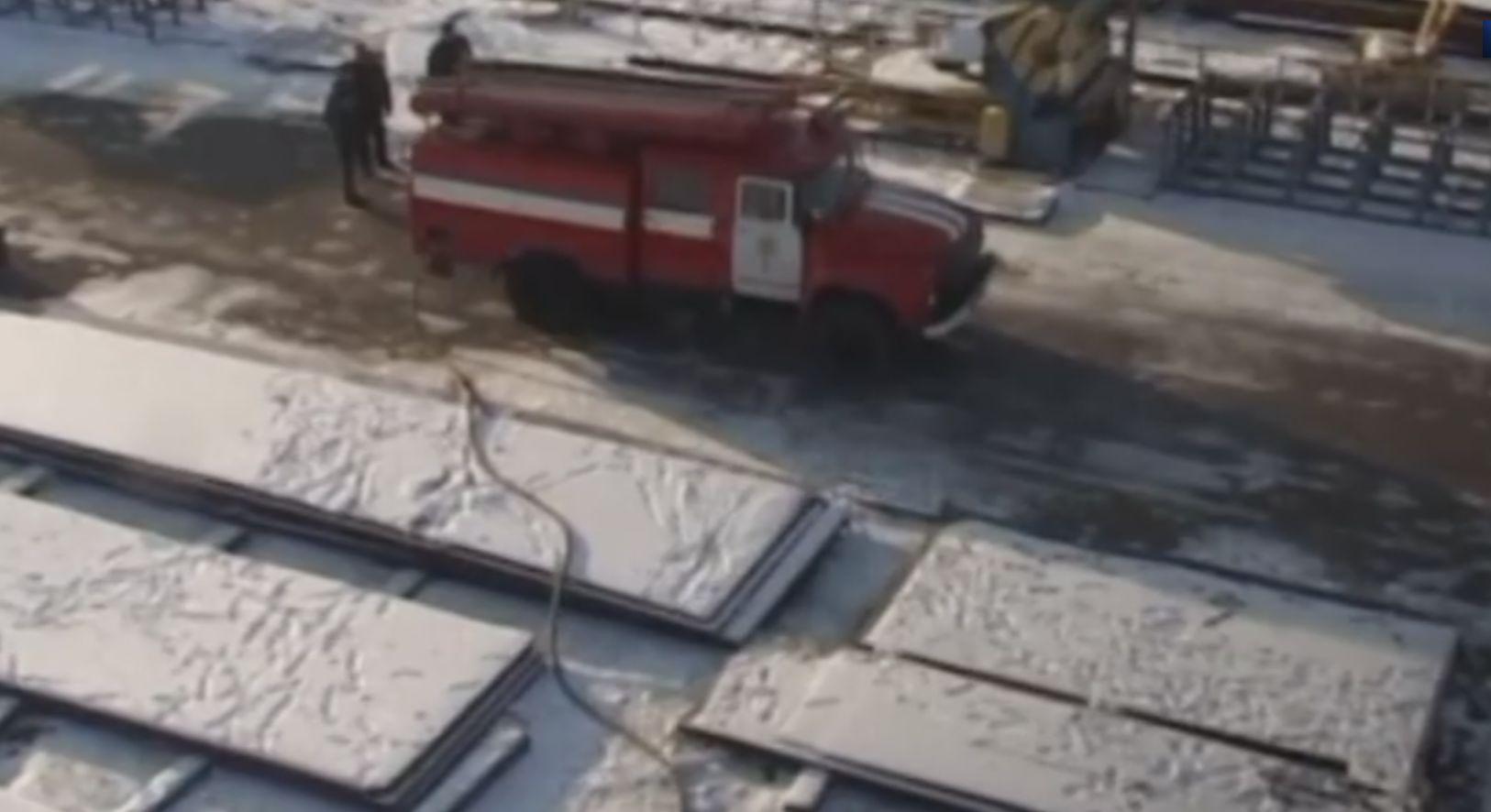 Необычное ЧП на высоте 12 метров произошло в Николаеве. Видео