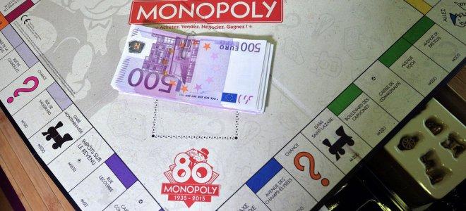 Монополии с настоящими евро видео
