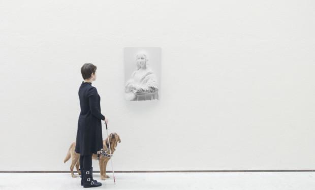Слепые могут «увидеть» Мону Лизу. Фото